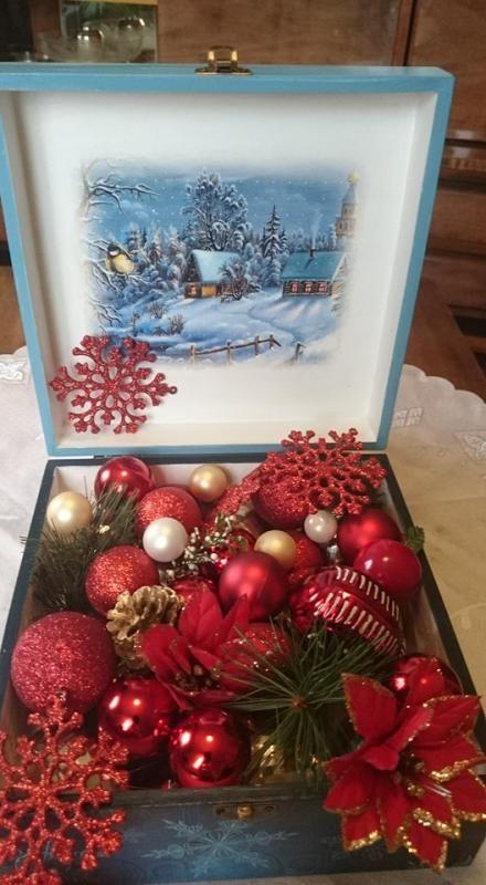 zimná krajina, krabičky | Artmama.sk