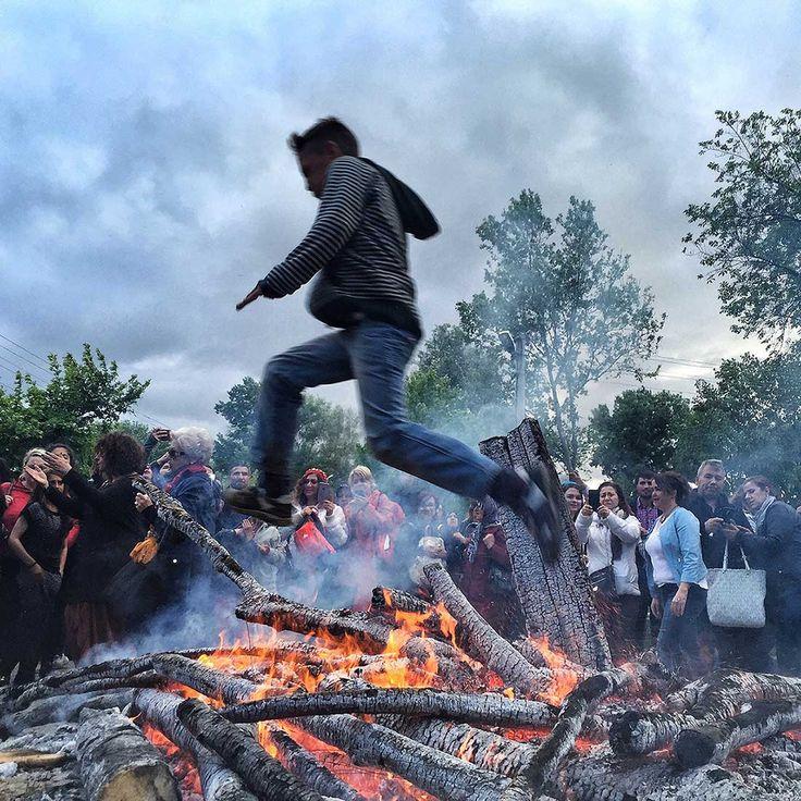 Sarayiçi'nde ateşten atlayan Romanlar, Hıdırellez, Edirne