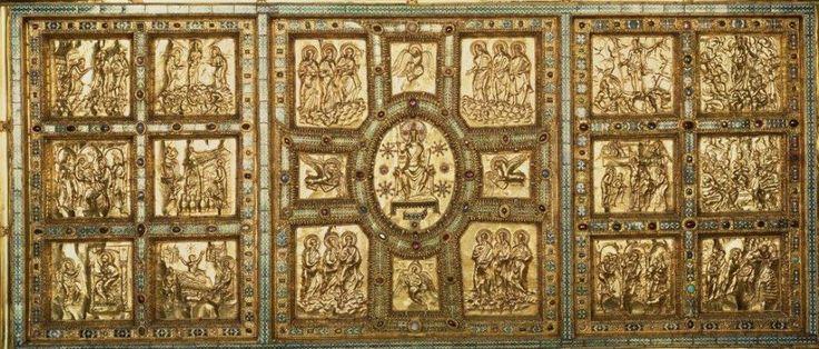 st ambrose of milan golden altar, 1.pol.9.st.