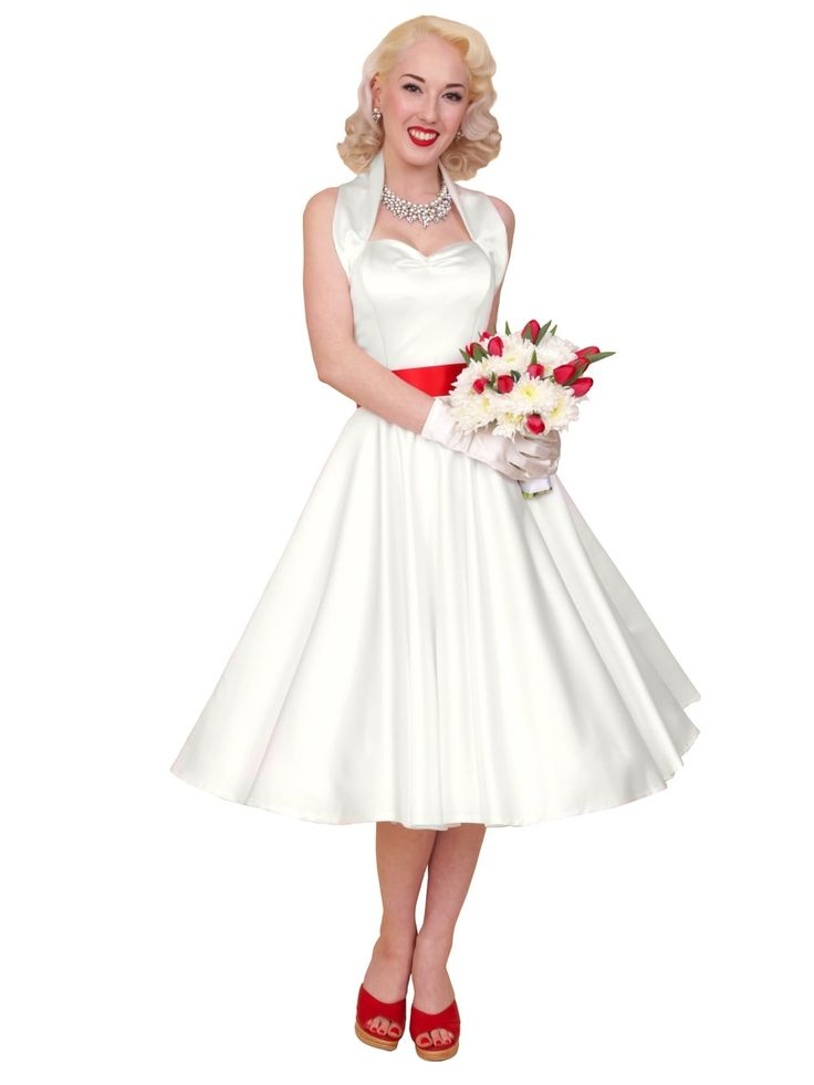 1940s-1950s-Vivien-of-Holloway-Best-Vintage-Reproduction-Halterneck-Circle-Dress-Ivory-Duchess