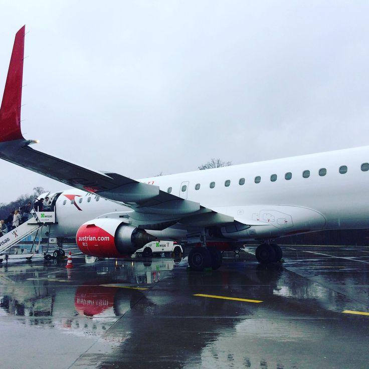 Austrian Airlines Economy Class Köln - Wien