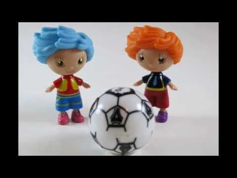 Surprise Play Doh Eggs with Amazing Toys and Soccer Game