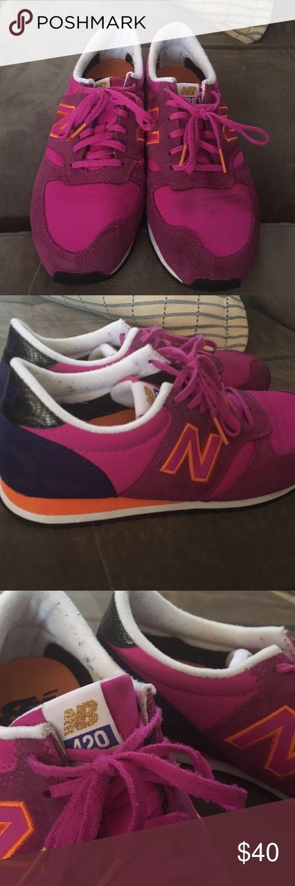 new balance 420 pink