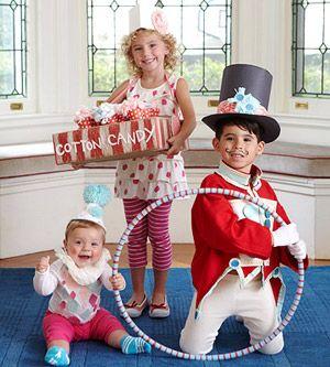 Circus inspired costume ideas