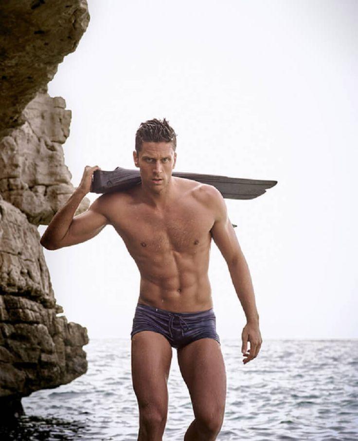 Luca Dotto. nadador italiano