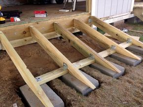 Constructing a Ramp for the Shed - Building a DIY Shed