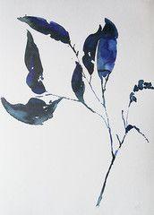 Køb Leaf print af Helene Blanche hos Stilleben – Stilleben - køb design, keramik, smykker, tekstiler og grafik