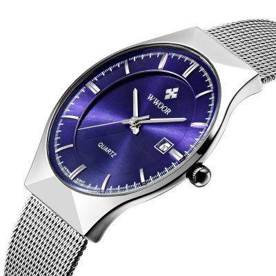 Oferta reloj de acero WWOOR por 11 euros (Cupón Descuento)