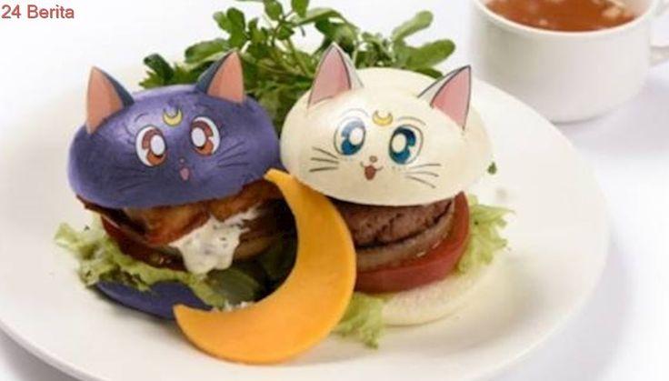 Kafe di Jepang, Hidangkan Aneka Menu Cantik Sailor Moon