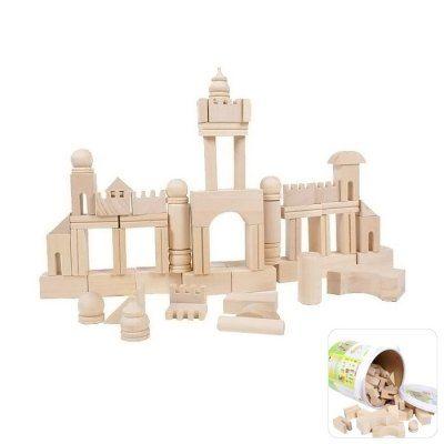 Hoy con el 43% de descuento. Llévalo por solo $85,600.Bricolaje de madera del bloque hueco 65pcs de puzzle para niños Juego de herramientas Ensamble de Educación Temprana del juguete.