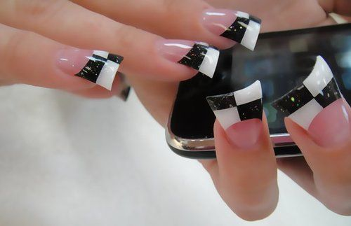 Flared Acrylic Nails - Bing Images