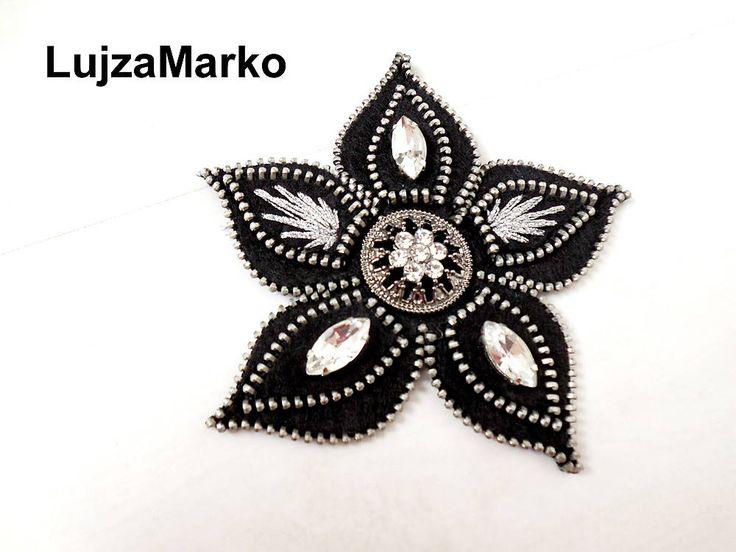 Hviezda večera by LujzaMarko - SAShE.sk - Handmade Odznaky/Brošne