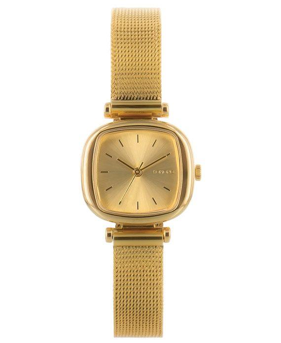 La montre Komono Moneypenny Royale célèbre le come-back des mini montres bijoux.