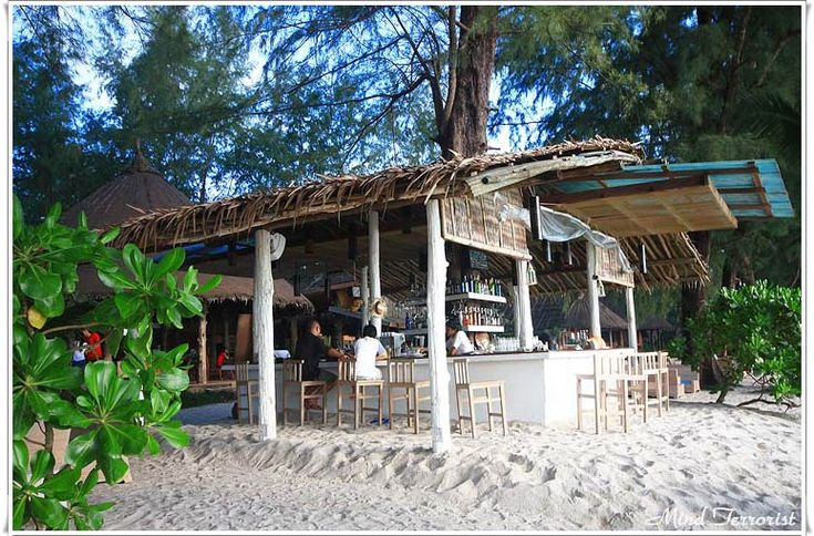 Quaint little beach bars popping up here and there on Koh Kood