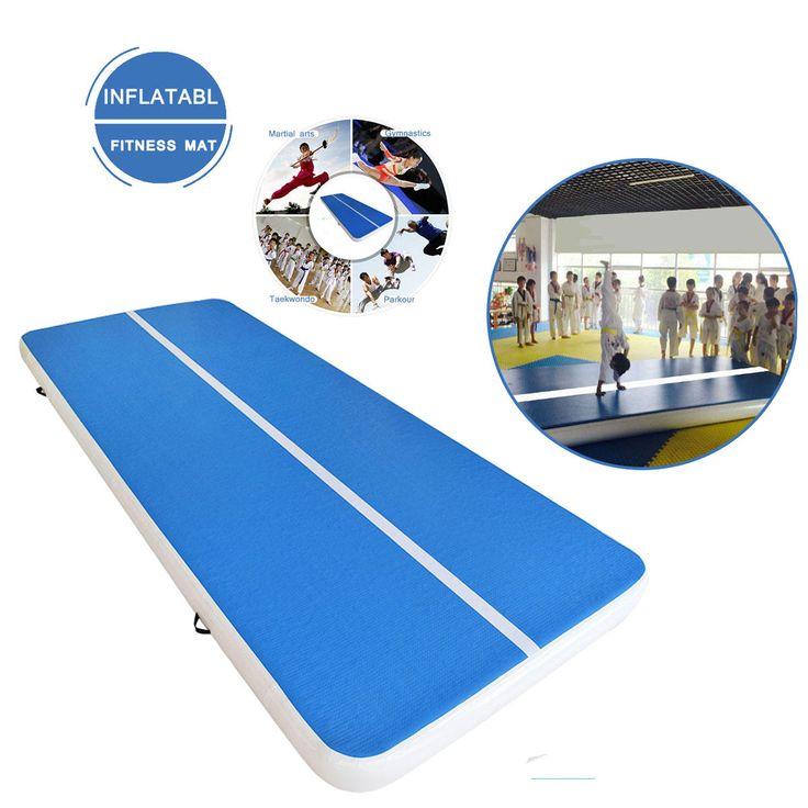 118-314x35x8inch Inflatable Gym Mat Air Tumbling Track Gymnastics Cheerleading Pad Sale - Banggood.com