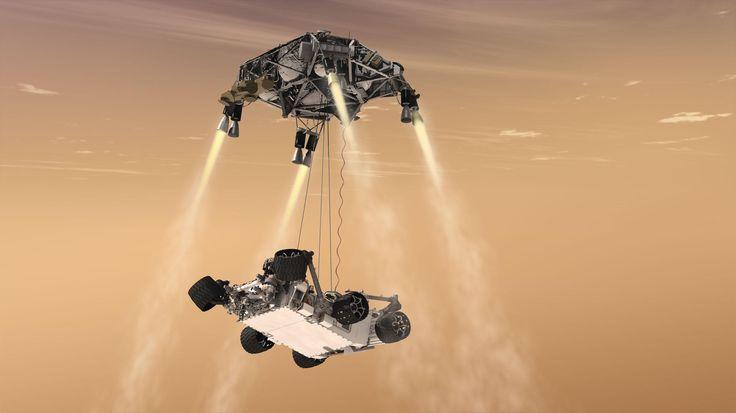 La sonda Curiosity aterriza en Marte en unas horas ¿saldrá todo bien?