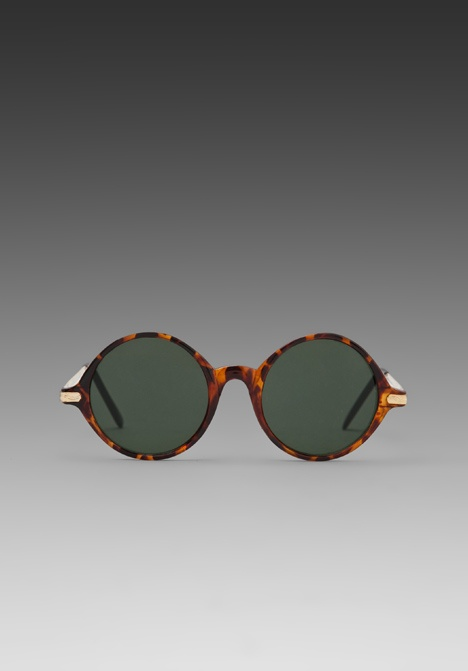 REPLAY Tortoise and Black Rounders Sunglasses in Tortoise at Revolve Clothing - Free Shipping!