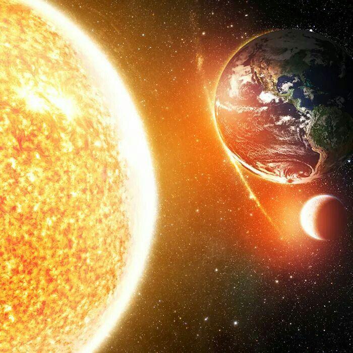 The big sun