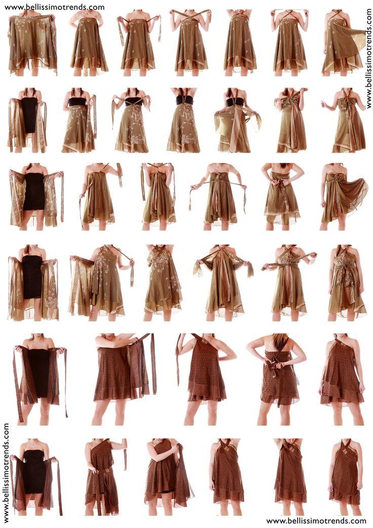Pareos-falda forma de ponerse                                                                                                                                                                                 Más