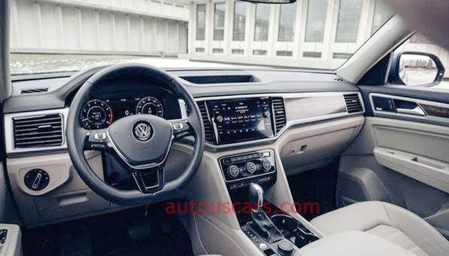 Volkswagen Atlas 2021 Interior Review And Release Date In 2020 Volkswagen Interior Atlas