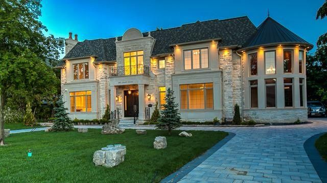 LUXURY HOME: Custom Built Estate Home * Exquisitely Designed * 9610 Sf Of Pure Luxury (6210+3400) * 2 Opulent Mbr Suites * Mn Flr Guest Suite * 6+1 Bdrms/9 Bths * Open Concept Gourmet Kit W/Top Of Line Appl's * Kosher Inspired 2 Dw/2 Sinks * 11' Ceilings On All 3 Flrs * Mahogany Panelled 2-Storey Grande Library W/Secret Panel Door * Elev * Wet Bar/Wine Cellar * Theatre Rm * Exer Rm * Htd Flrs Mbr Ens & Lower Lvl * 3-Car Htd Gar & Htd Drive** Walk To Bathurst**