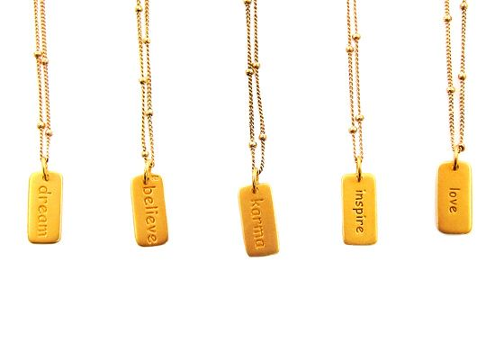 Karma inspiratie ketting | InTu jewelry design with meaning
