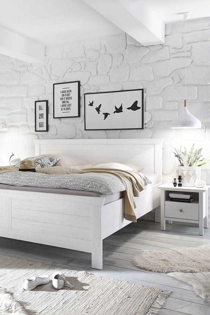 Komplett Schlafzimmer Im Landhaus Design, Handwerklich Gut Verarbeitet