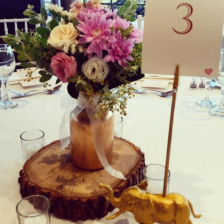 We love the rustic feel that tree slices can add to your event. The good news is we have lots available for hire  www.thevintageway.com.au