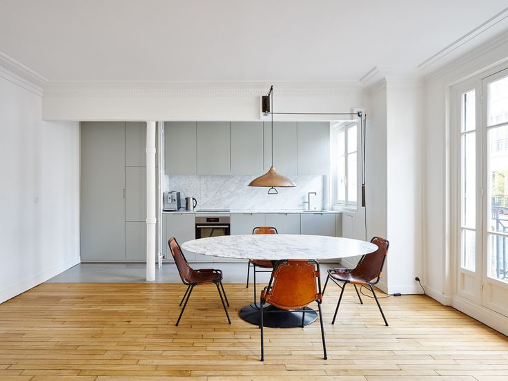 Hubert Apartment in Paris by Septembre Architecture | http://www.yellowtrace.com.au/hubert-apartment-paris-septembre-architecture/