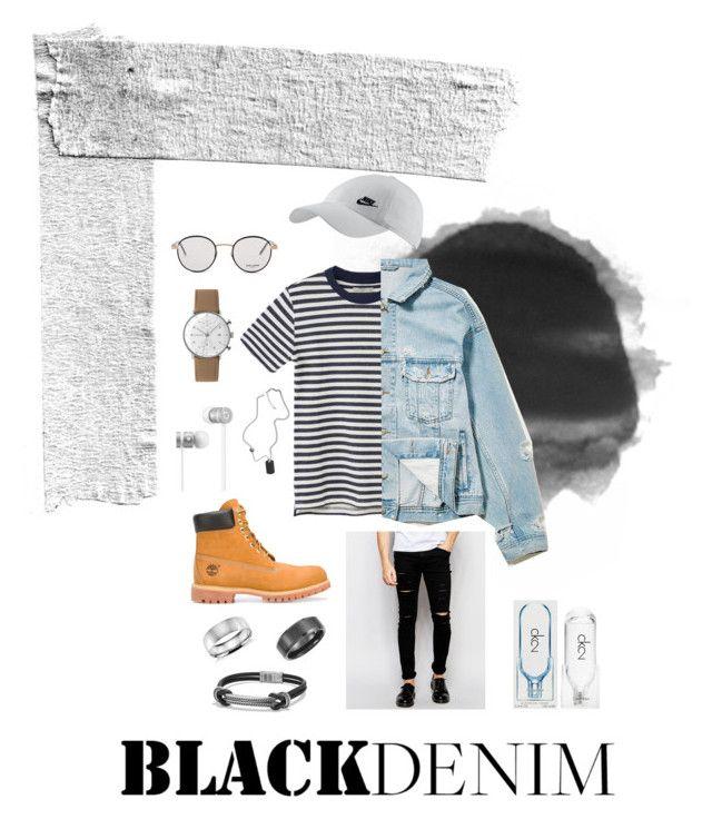 """""""박지민"""" by mermerjulia on Polyvore featuring Blue Nile, Timberland, Junghans, Calvin Klein, Yves Saint Laurent, Beats by Dr. Dre, NIKE, Cheap Monday, MANGO MAN and Loom"""
