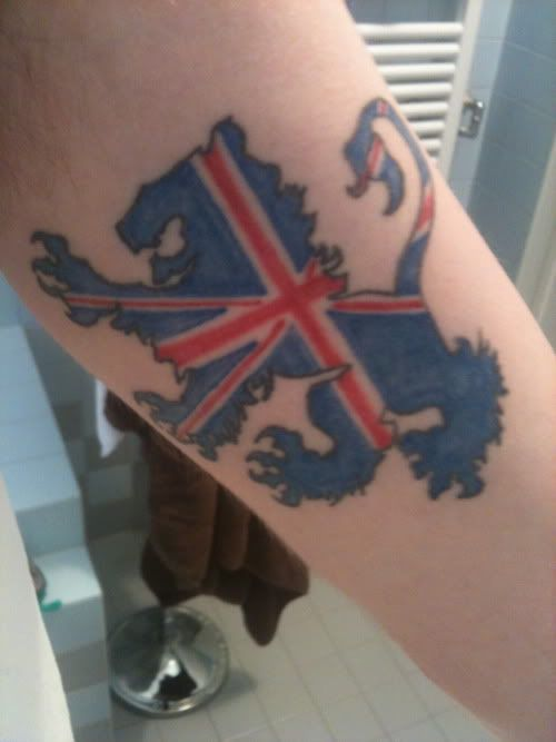 Union Jack, lion, UK | Pretty tats | Tattoos, British ...