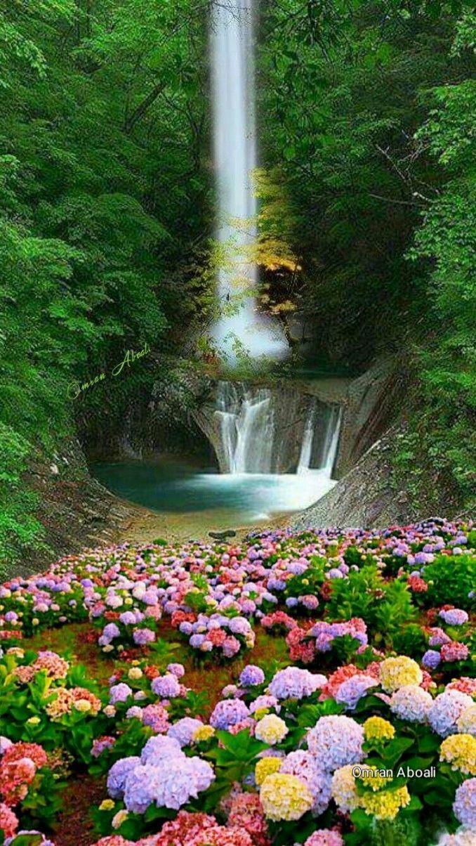 Beautiful Waterfalls Around The World Beautiful Nature Nature Photography Beautiful Nature Wallpaper