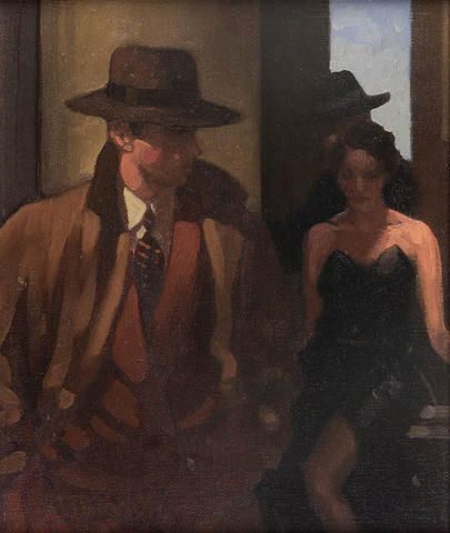 Jack Vettriano - Ghosts of the Past