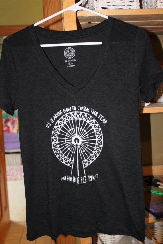 Divergent Inspired TShirt Ferris Wheel. by PaintNPrintz on Etsy, $28.00