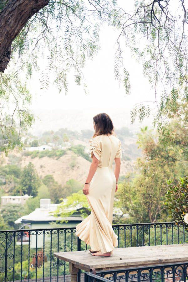 Actress Zelda Williams via TheCoveteur