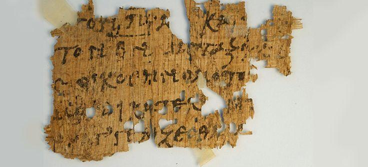Почти 2000-летняя рукопись Евангелия от Иоанна была обнаружена на интернет-аукционе e-Bay с начальной ценой $99.