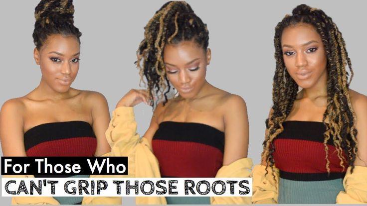 NO GRIP Methods for Twists & Braids ft. Afro Blonde Twists + Hair Growth Vitamins ft. Rapunzel [Video] - https://blackhairinformation.com/video-gallery/no-grip-methods-twists-braids-ft-afro-blonde-twists-hair-growth-vitamins-ft-rapunzel-video/