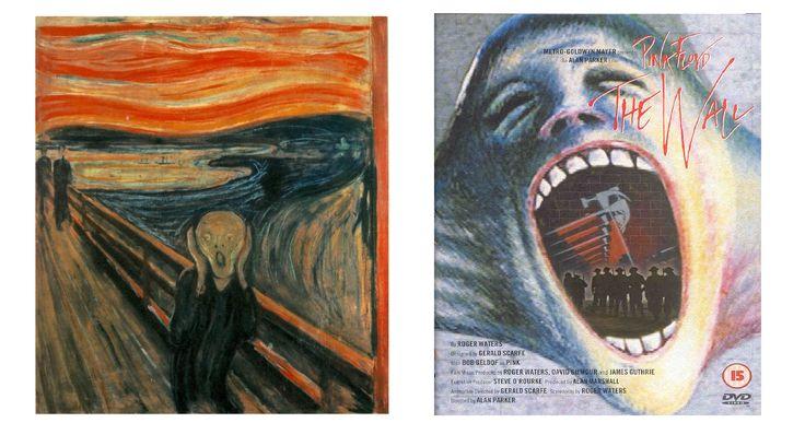 """Em 1982, Pink Floyd lançou o filme The Wall; um estudo de personagem Pink, rockstar que se perdeu durante a vida nas drogas, instabilidade emocional e problemas com a família, The Wall reflete elementos do expressionismo e do surrealismo.  À começar pelo poster do filme, que se assemelha ao """"Grito"""", de Edward Munch, um dos marcos do expressionismo. A pintura do rosto gritando, representa o desespero de Pink e prepara terreno para a abordagem do longa e seus temas recorrentes: loucura e…"""