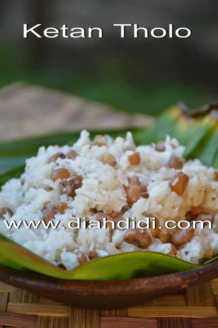 Diah Didi's Kitchen: Ketan Tholo