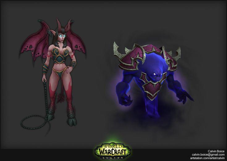 ArtStation - Legion Demons, Calvin Boice