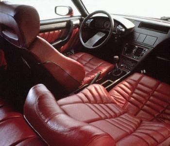 The interior of a Citroen CX
