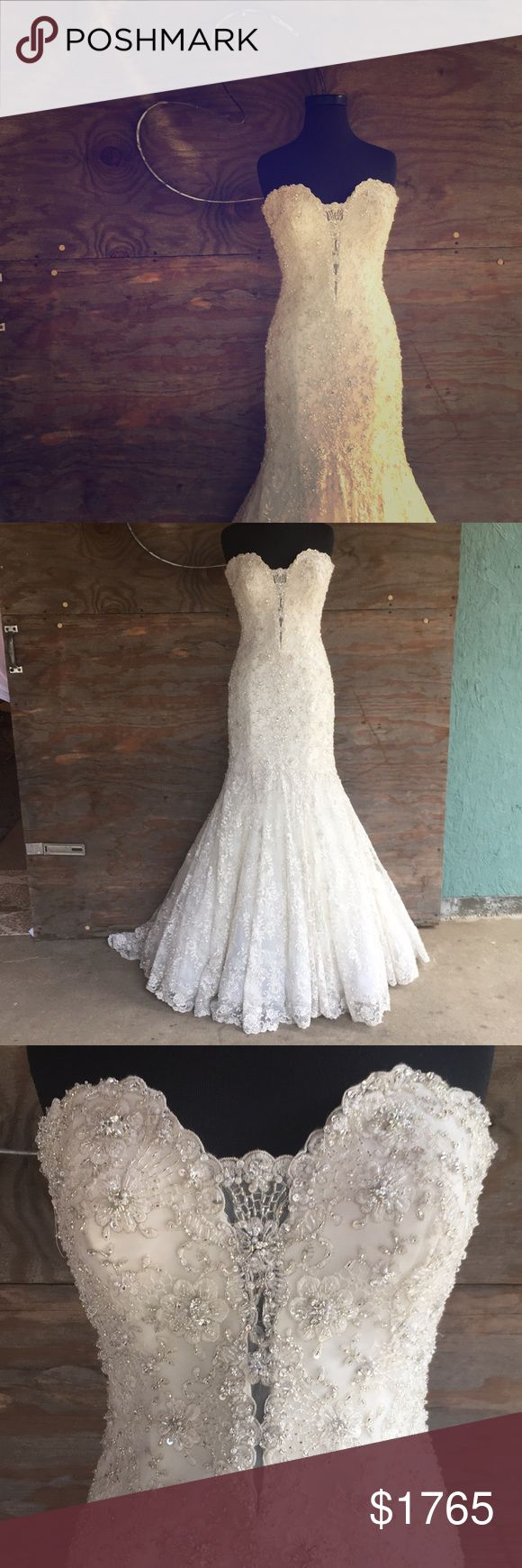 I just added this listing on Poshmark: 🆕 Allure Couture C200. #shopmycloset #poshmark #fashion #shopping #style #forsale #Allure Bridals #Dresses & Skirts
