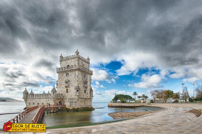 Lisbona - La Torre de Belem.