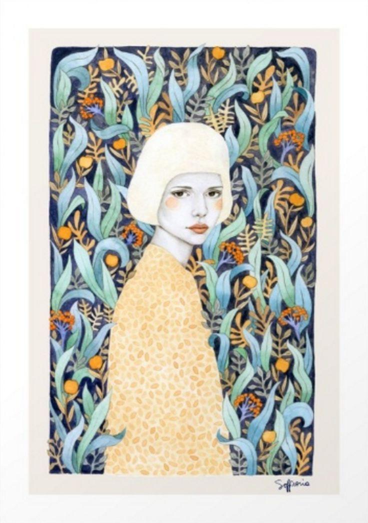 Emilia Art Print | Sofia Bonati at Society6