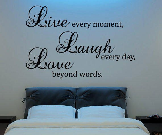 Live Laugh Love Living Room Idea Luxury Live Laugh Love Wall Decal Vinyl Sticker From Happy Wallz Wall Decor Bedroom Love Wall Vinyl Wall Decals