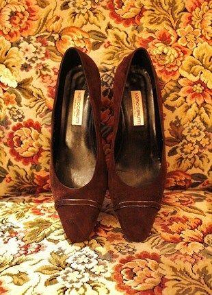 Kaufe meinen Artikel bei #Kleiderkreisel http://www.kleiderkreisel.de/damenschuhe/ballerinas/116086046-true-vintage-pumps-von-mario-cerutti
