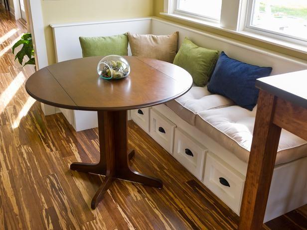 Mejores 24 imágenes de built in seating en Pinterest | Cocinas ...