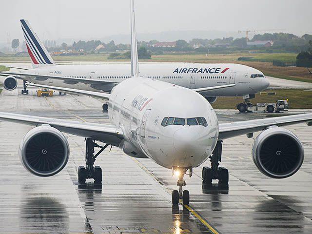 La CGT Air France appelle au boycott des vols vers les USA