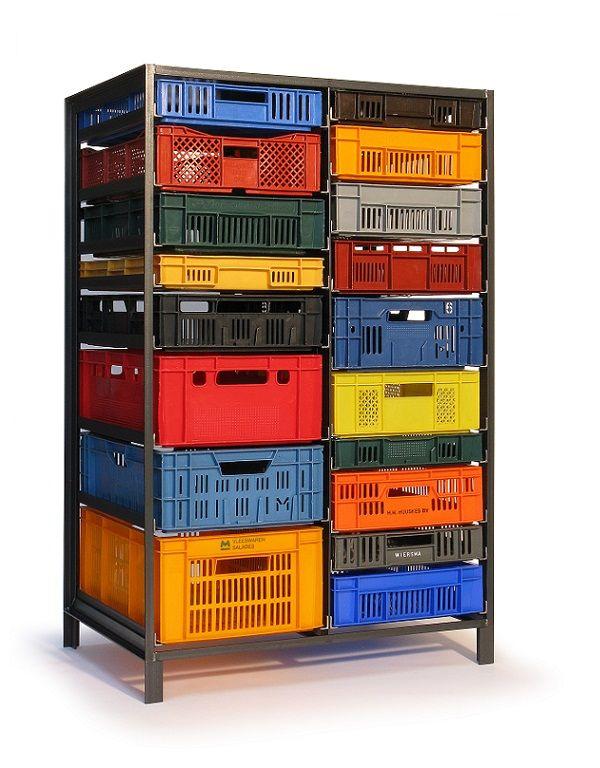 Les 25 meilleures id es concernant caisse plastique sur - Caisse rangement plastique ikea ...