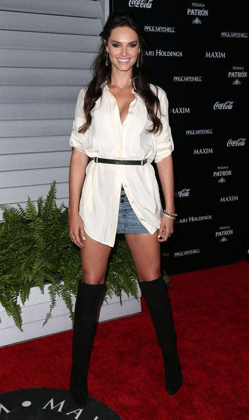 Lisalla Montenegro Stylish Outfit with Knee High Boots